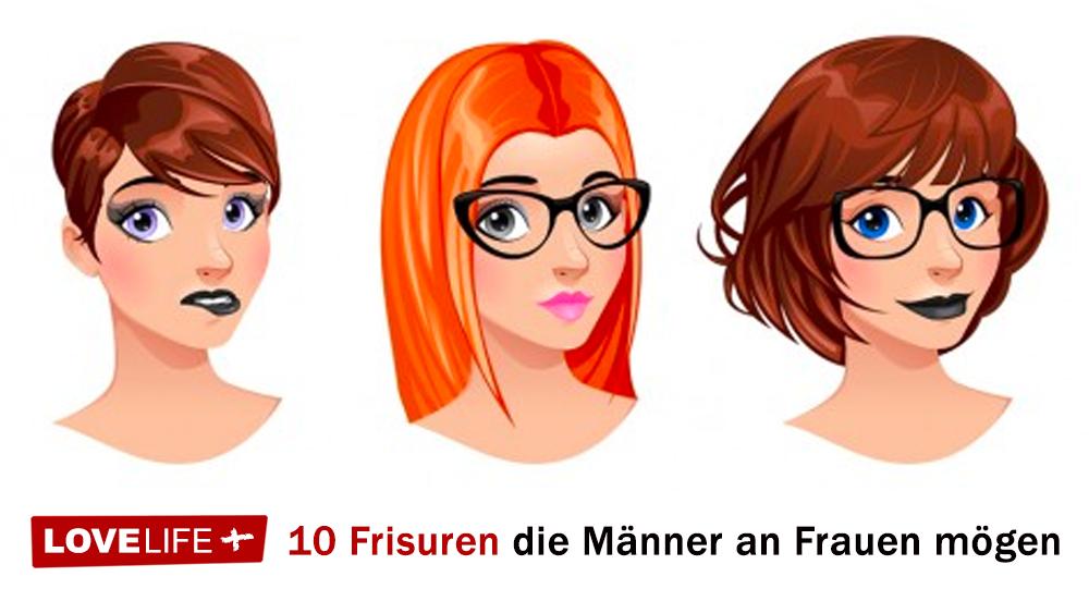 10 Frisuren Mit Denen Du Männer Beeindrucken Kannst Lovelifeplus
