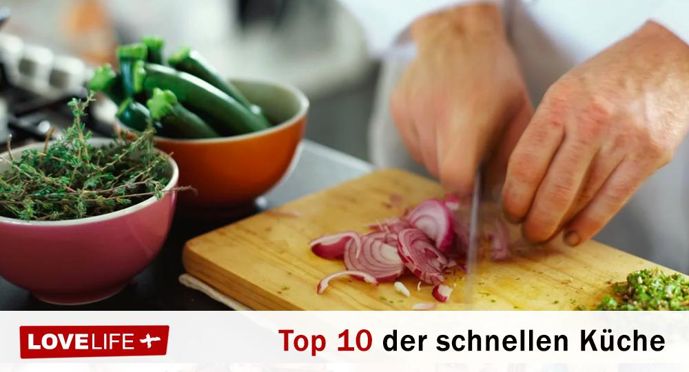 Die Top 10 der schnellen und gesunden Küche - LoveLife.plus
