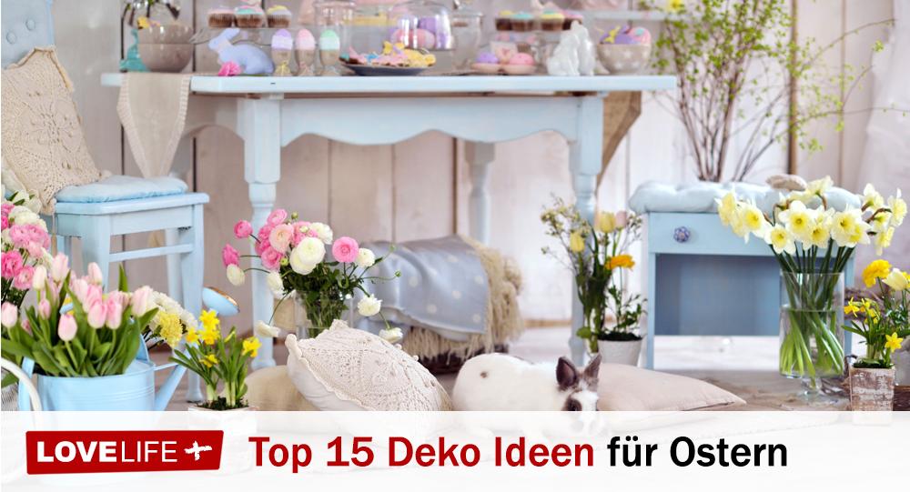 Top 15 Diy Deko Und Bastelideen Fur Ostern Lovelife Plus