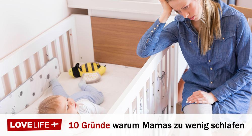 die top 10 gr nde warum mamas zu wenig schlaf bekommen. Black Bedroom Furniture Sets. Home Design Ideas