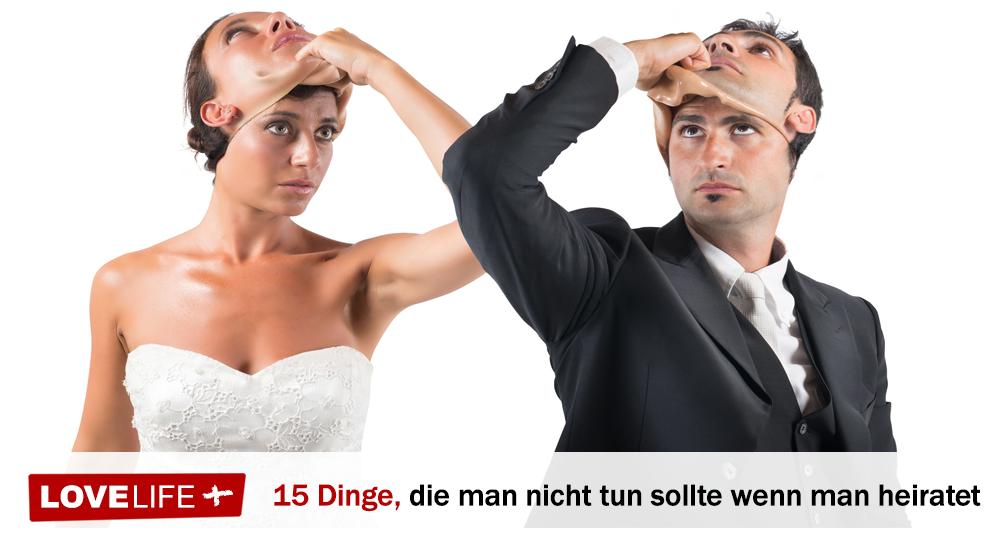 wichtige Dinge zu beachten, bevor Sie heiraten